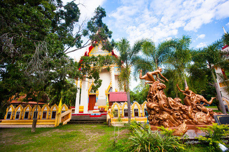 Hainan Chinese Temple, Koh Samui island, Thailand
