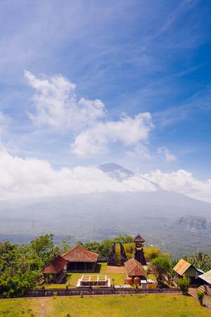 Agung volcano, Bali island, Indonesia