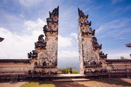 Pura Lempuyang-Tempel. Insel Bali, Indonesien