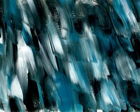 black blue: Creative oil painting texture.
