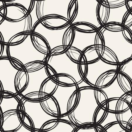 Zusammenfassung Hand gezeichnet nahtlose Hintergrund. Standard-Bild - 42280463