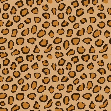 abstract wallpaper: Leopard skin texture. Seamless vector pattern.