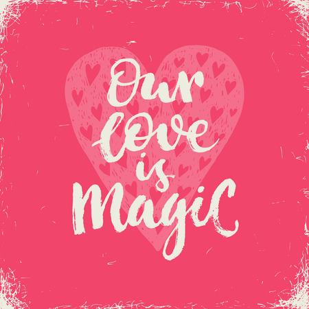 Eres El Unico Letras De La Mano De San Valentin Frase Dias Sobre Un