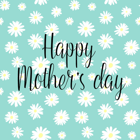 Happy mother`s day! vector greeting card