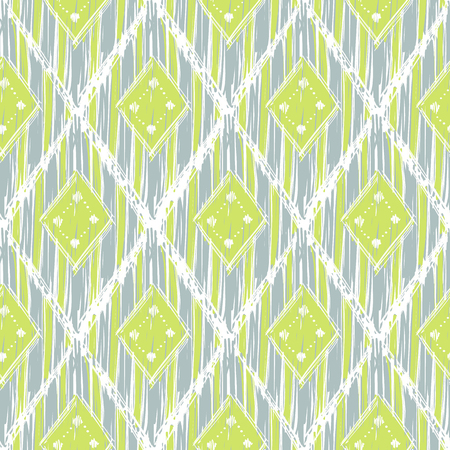 blue and green: cute pastel green and blue colors modern seamless pattern. Summer ethnic print.