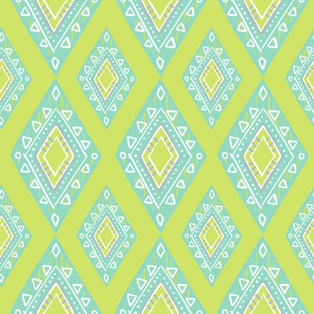blue design: cute pastel green and blue colors modern seamless pattern. Summer ethnic print.
