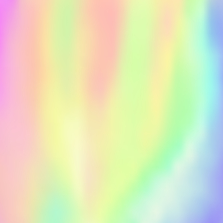 Holographic foil vector illustration. Blurred trendy pattern.