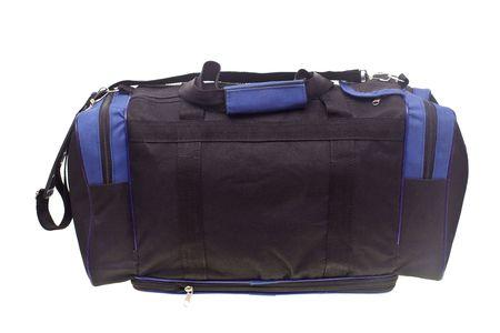 Travel bag isolated on white background Stock Photo