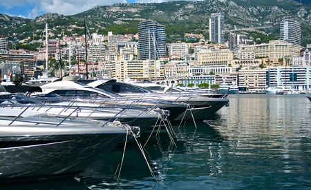 Port in Monaco photo