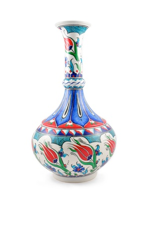 Turkish ceramic vase  photo