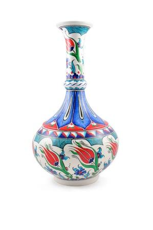 ewer: Turkish ceramic vase  Stock Photo