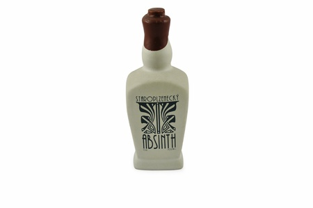 A bottle of real Czech absinthe  photo