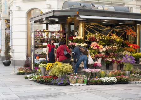 flower shop: Flower shop in the heart of Vienna