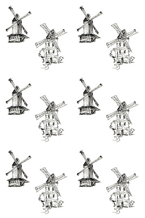 schermerhorn: Pattern with windmills