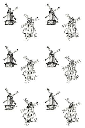 schermerhorn: Pattern with windmills