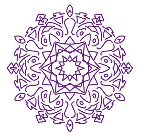 mandala: mandala design Stock Photo