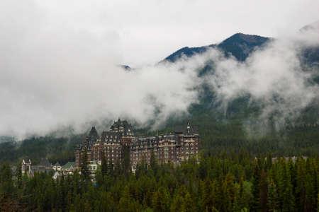 banff: the Banff Springs Hotel, Banff National Park, Canada