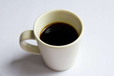 A cup of black coffee Stock Photo - 9959239