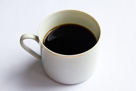 A cup of black coffee Stock Photo - 9995162