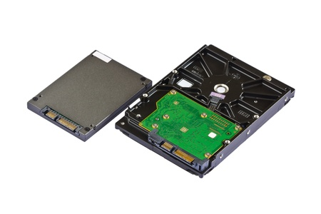 Solid state drive  SSD  for notebook versus hard disk drive  HDD  for desktop computer