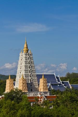 gaya: Bodh Gaya style pagoda in Chonburi, a travel destination in Thailand Editorial