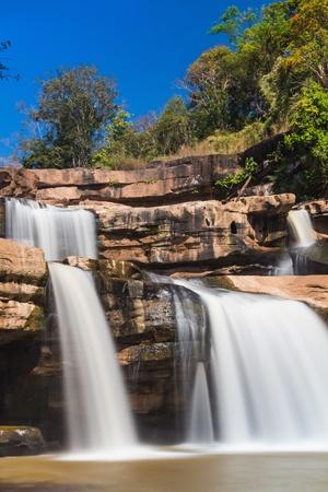 kaeng: Kaeng sopha waterfall in Thung Salaeng Luang National Park, Phitsanulok, Thailand