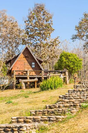 lodging: Lodging houses at Mae Chaem, Chiang Mai province, Thailand