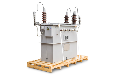 150 kVA dual voltage system (12000/24000 V) three phase CSP (completely self protected) type oil immersed transformers Reklamní fotografie