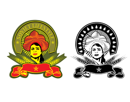 socialism: Vector art in Adobe illustrator EPS format. The document can be scaled to any size without loss of quality.