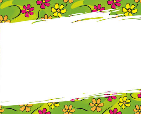 colord: Background with flowers for Easter and other greetings.