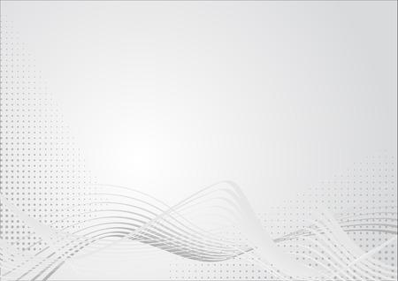 Abstracte afbeelding in licht grijs kleuren met lijnen en het raster. Geschikt als achtergrond voor bedrijfs presentaties.