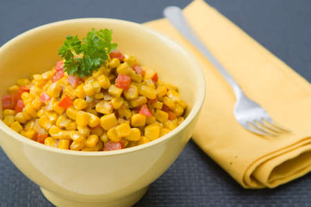 mealie: African Curry made from corn, coconut milk and paprika.