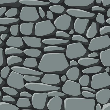 remplissage: R�p�ter sans soudure patron de pierres grises y compris le swatch transparente pour le remplissage facile de tout les contours.