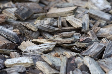Full frame image with selective focus of bark mulch like used for gardening. Stock Photo - 8185746