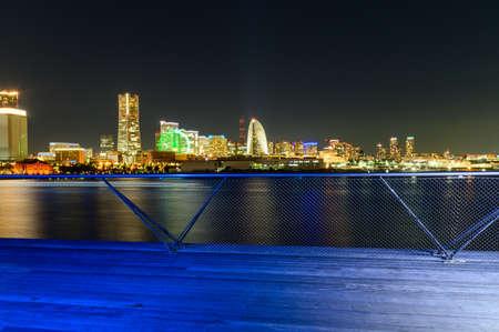Night view of Yokohama Alla Tomiray