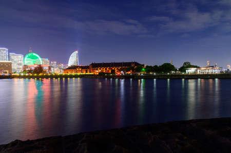 Yokohama Alla-Merray Night View