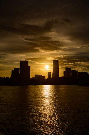 Yokohama Evening View