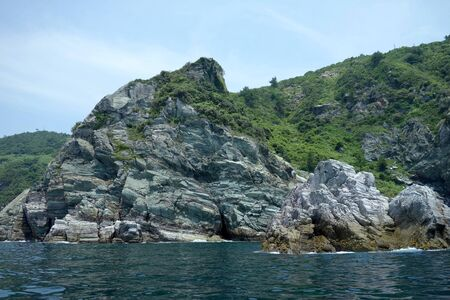 Nushima rock formations