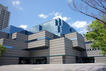 大阪府立中央図書館 報道画像