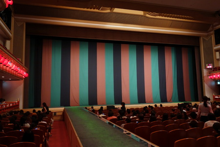 constitutive: Kabuki stage