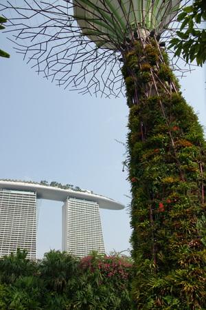 Marina Bay sands Singapore Sajtókép