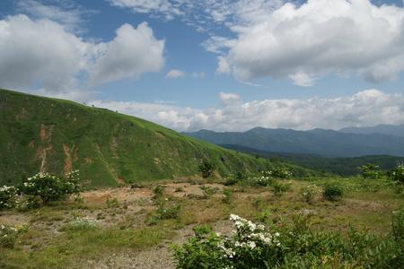Mount Shirane Kusatsu 版權商用圖片