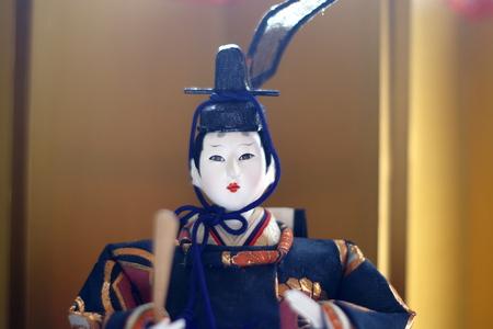 Japanese Hina dolls Stock Photo