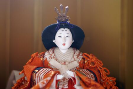 Japanese Hina dolls Editorial