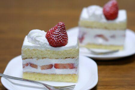 Short cake Stock Photo