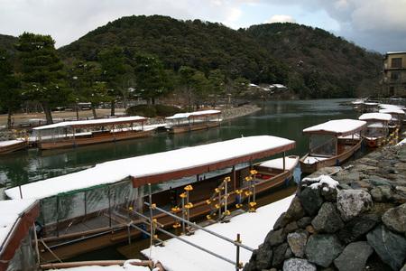 Uji River houseboats