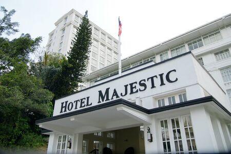 Majestic hotel Kuala Lumpur Editorial