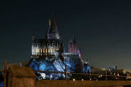 Hogwarts castle USJ