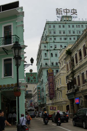 Macau scenery Editorial