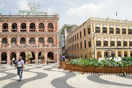 Macau Senado square Editorial